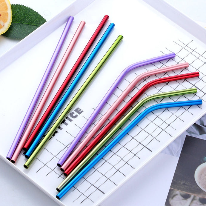The Metal Star Straws