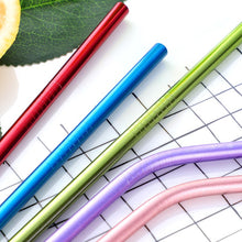 Load image into Gallery viewer, The Colourful Metal Straws