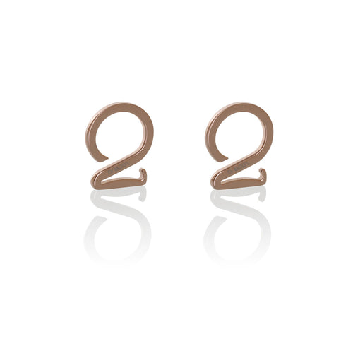 Stainless steel jewelry rose gold hook set Brappz USA Canada SKU# 7640174312160 brappz.co Brappz multi-purpose silicone jewelry USA