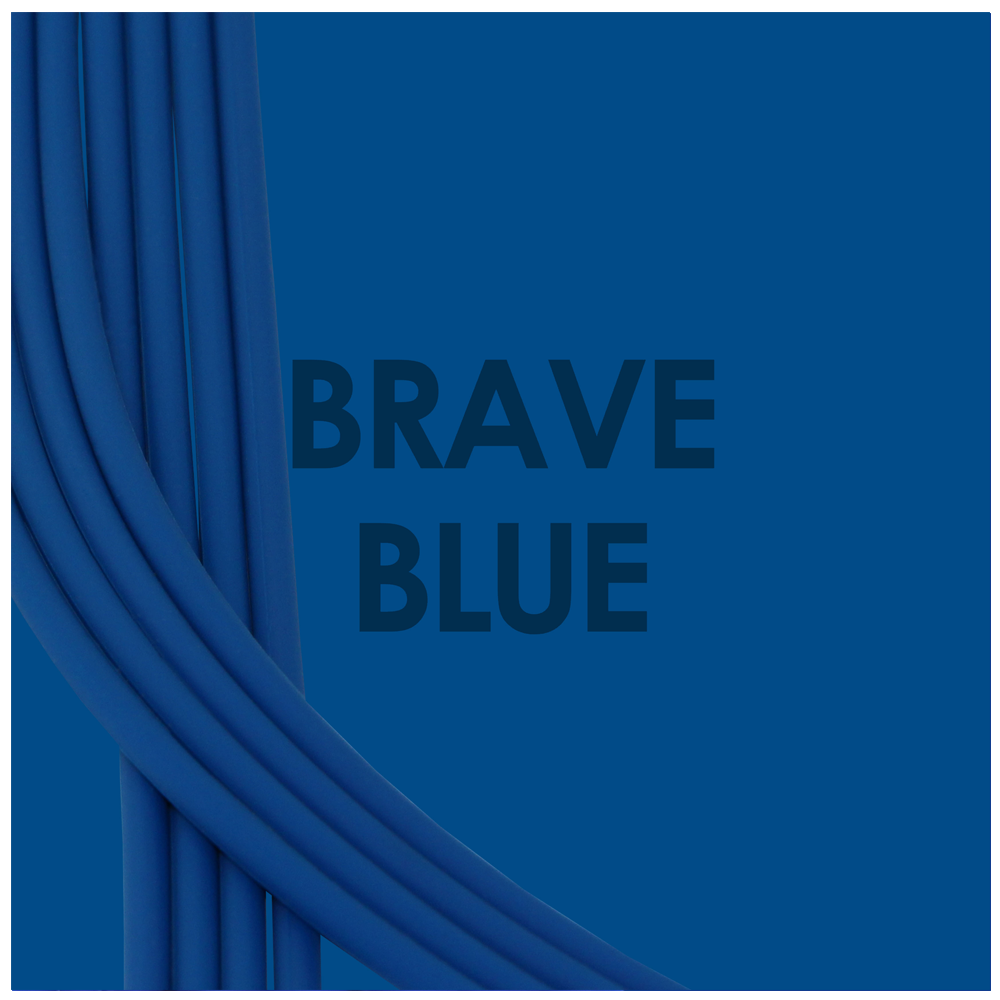 Brave Blue-Kobalt Blue_Bra straps set 4 blue silicone adjustable straps & 4 cobalt hooks Brappz USA Canada SKU# 7640174311446 brappz.co Brappz multi-purpose silicone jewelry USA