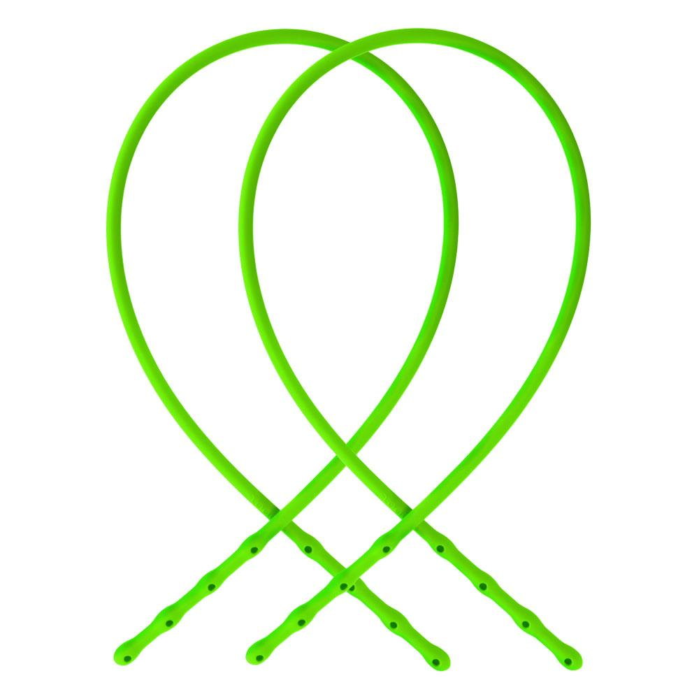 Straps green neon soft silicone adjustable Brappz SKU#7640174310593 brappz.co Brappz multi-purpose silicone jewelry USA