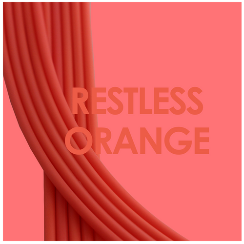 Straps orange neon soft silicone adjustable Brappz SKU#7640174310630 brappz.co Brappz multi-purpose silicone jewelry USA
