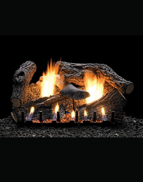 Empire Gas  Logs - Super Sassafras Vent Free