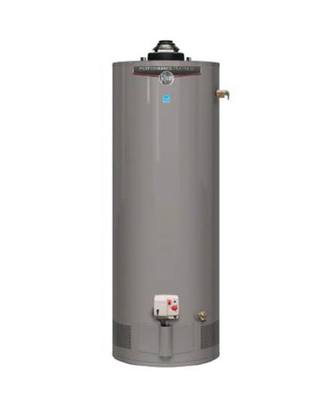 Rheem 40 Gallon Natural Gas Tank Water Heater