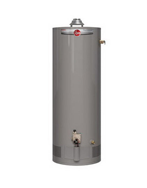 Rheem 50 Gallon Natural Gas Tank Water Heater