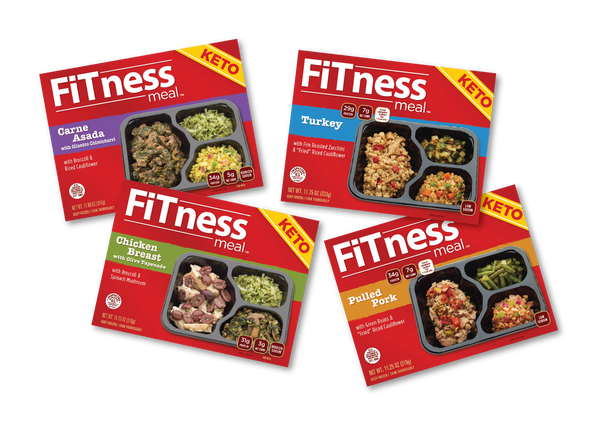 $69 for 1st Time 10 FiTness Keto Meals 3 Carne 3 Chicken 2 Turkey and 2 Pulled Pork Code FT10