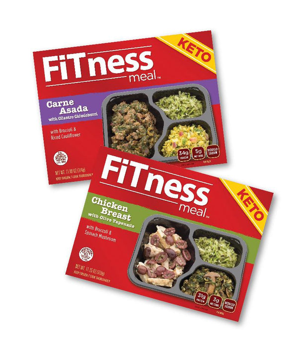 $79 for 10 KETO Diet FiTness Meals 5 Carne Asada and 5 Chicken