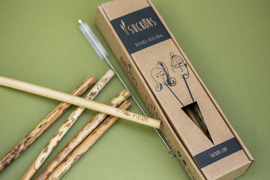 Reusable Reed Straws (pack of 10)
