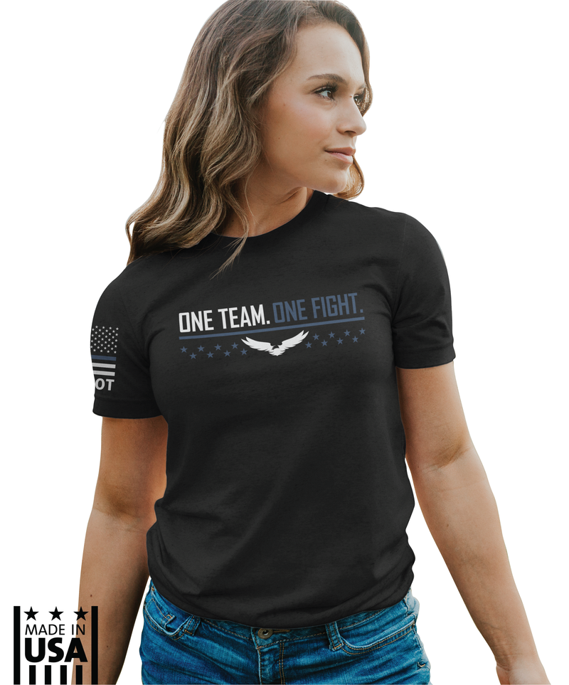 Women's Relaxed Fit: One Team - One Fight - TruPatriot