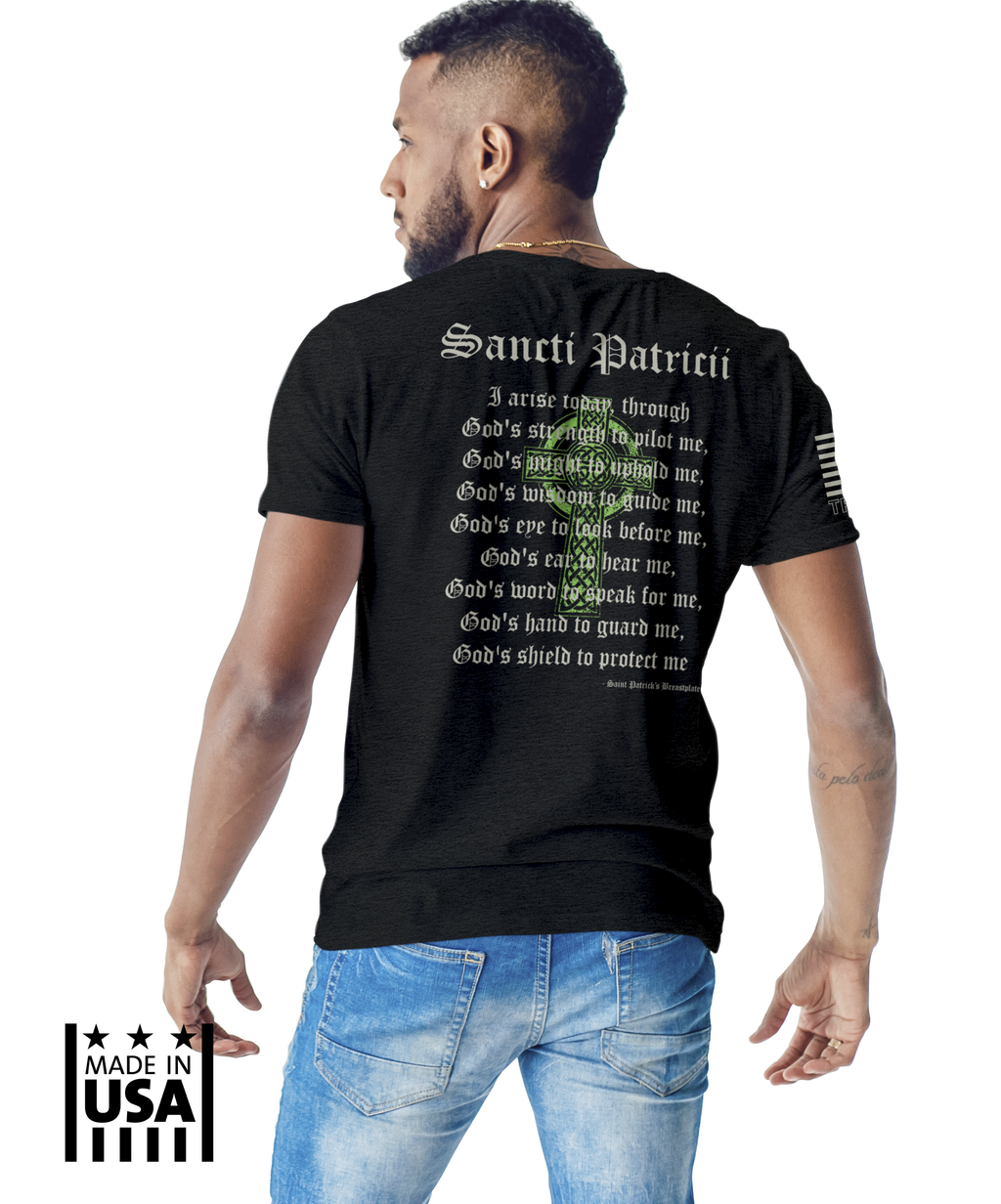 Performance Tri-Blend: Saint Patrick's Breastplate - TruPatriot