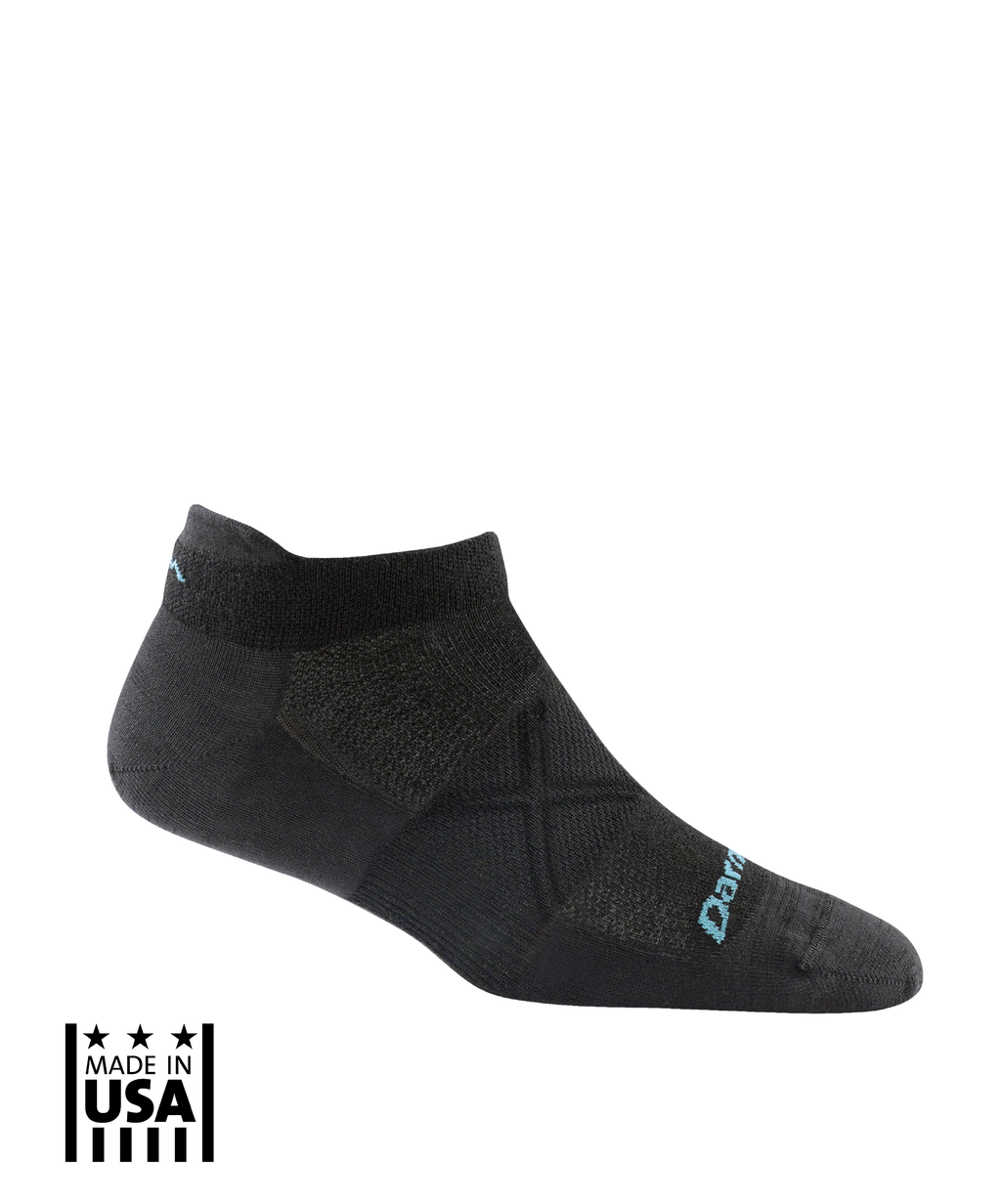 Women's: Vertex No Show Tab Ultra-Light - Black - TruPatriot