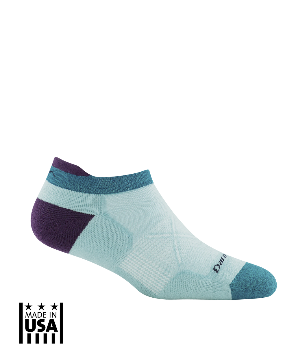 Women's: Vertex No Show Tab Ultra-Light - Glacier - TruPatriot