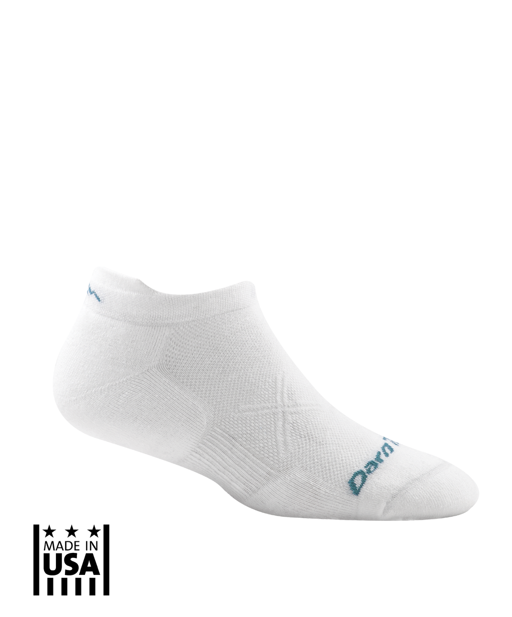 Women's: Vertex No Show Tab Ultra-Light - White - TruPatriot
