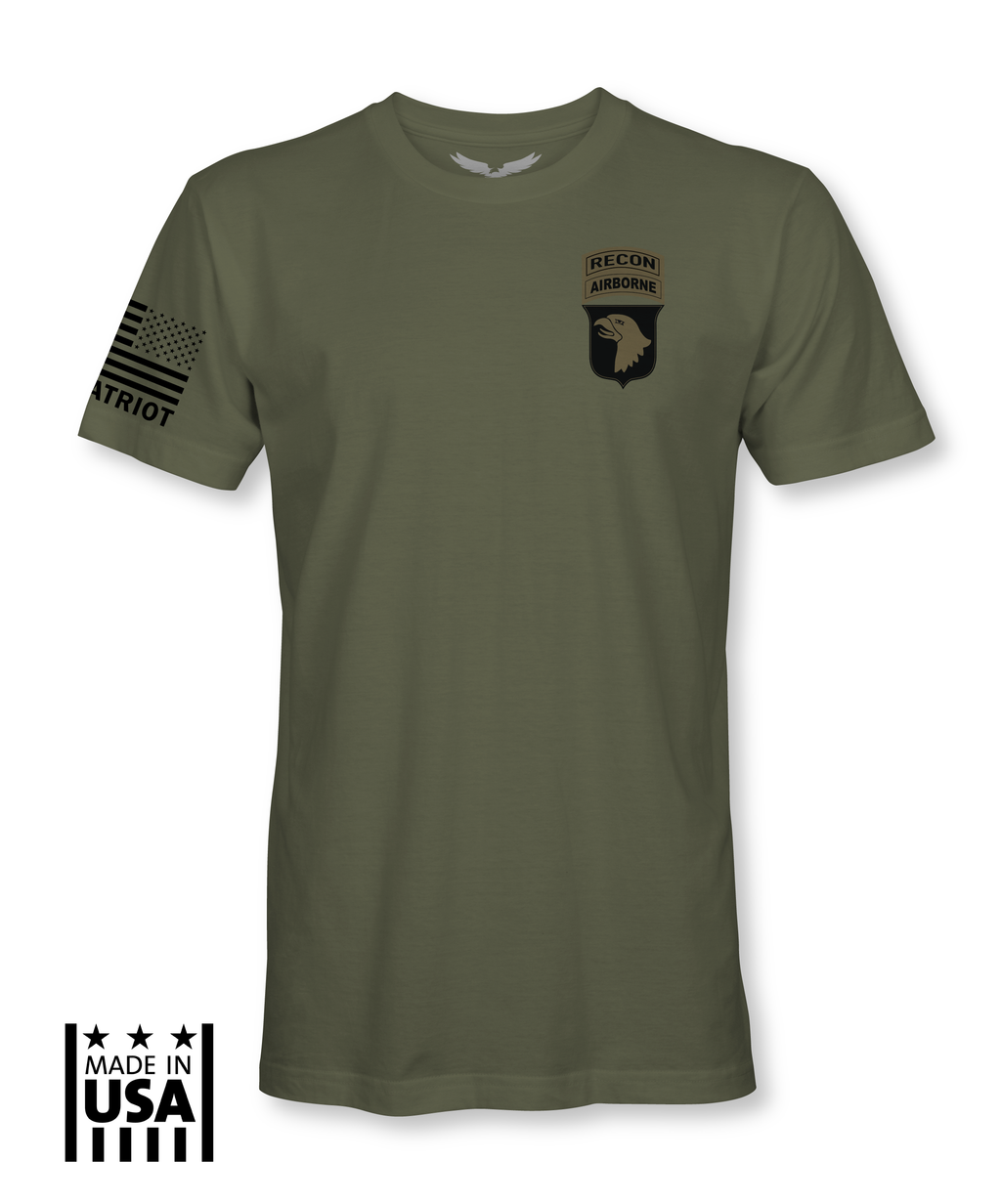 Men's: 101st Airborne - Recon Tab - TruPatriot