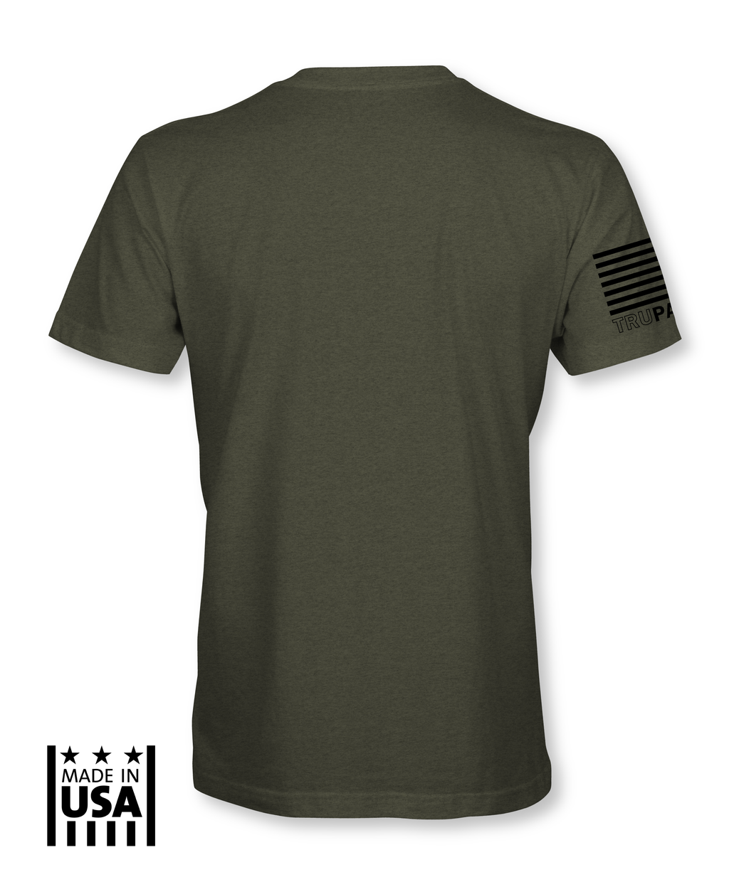 Performance Tri-Blend: Basic - Tri Army - TruPatriot