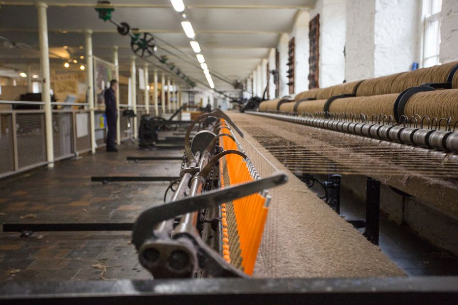 Our Yarn Process