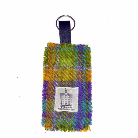 New Lanark Fabric Keyring
