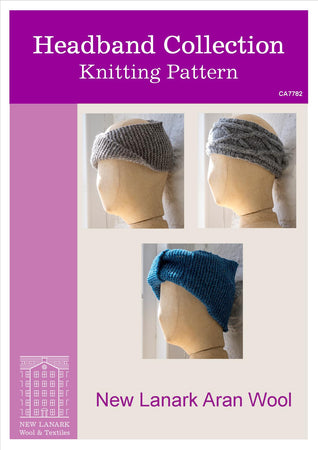 Aran Headband Collection Patterns