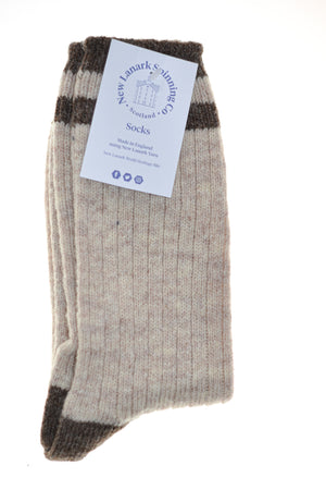 New Lanark gents socks various colours - New Lanark Spinning Company