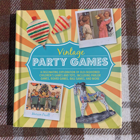 Book - Vintage Party Games