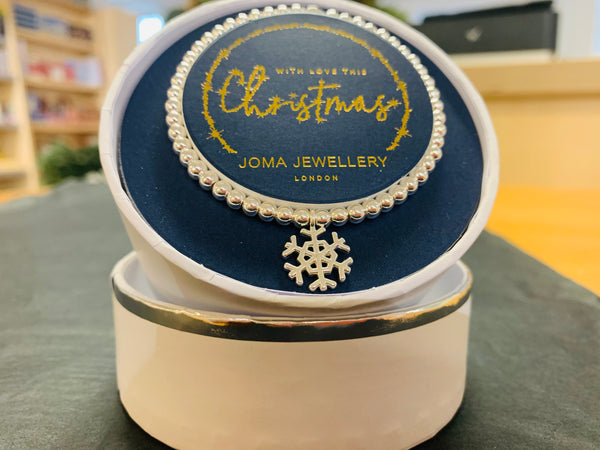 Joma Jewellery 2020 - Circular Boxed Bracelet - With Love this Christmas - New Lanark Spinning Company