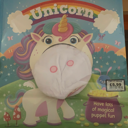 Book - Unicorn (Puppet Fun)