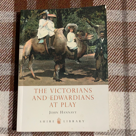 Book - The Victorians and Edwardians At Play - New Lanark Spinning Company