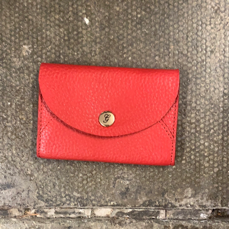 Coin Purse Red, Graffitti - New Lanark Spinning Company