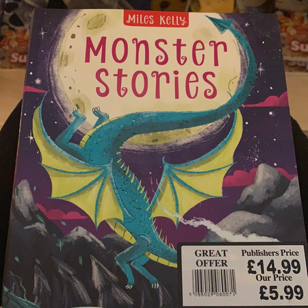 Book - Monster Stories - New Lanark Spinning Company