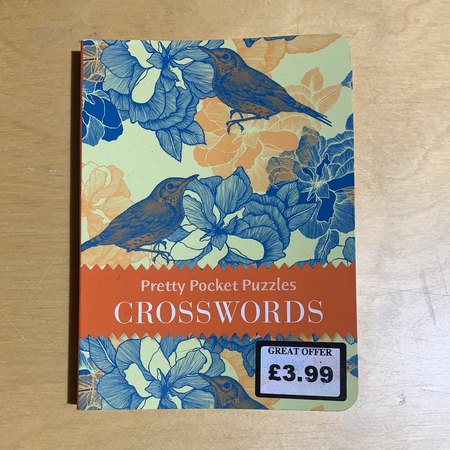 Book - Pretty Pocket Puzzles, Crosswords