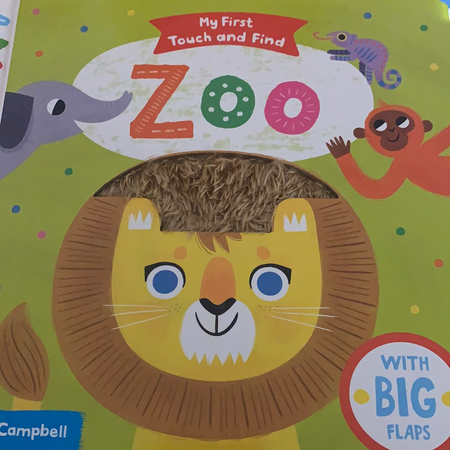 Book - My First Touch and Find Zoo