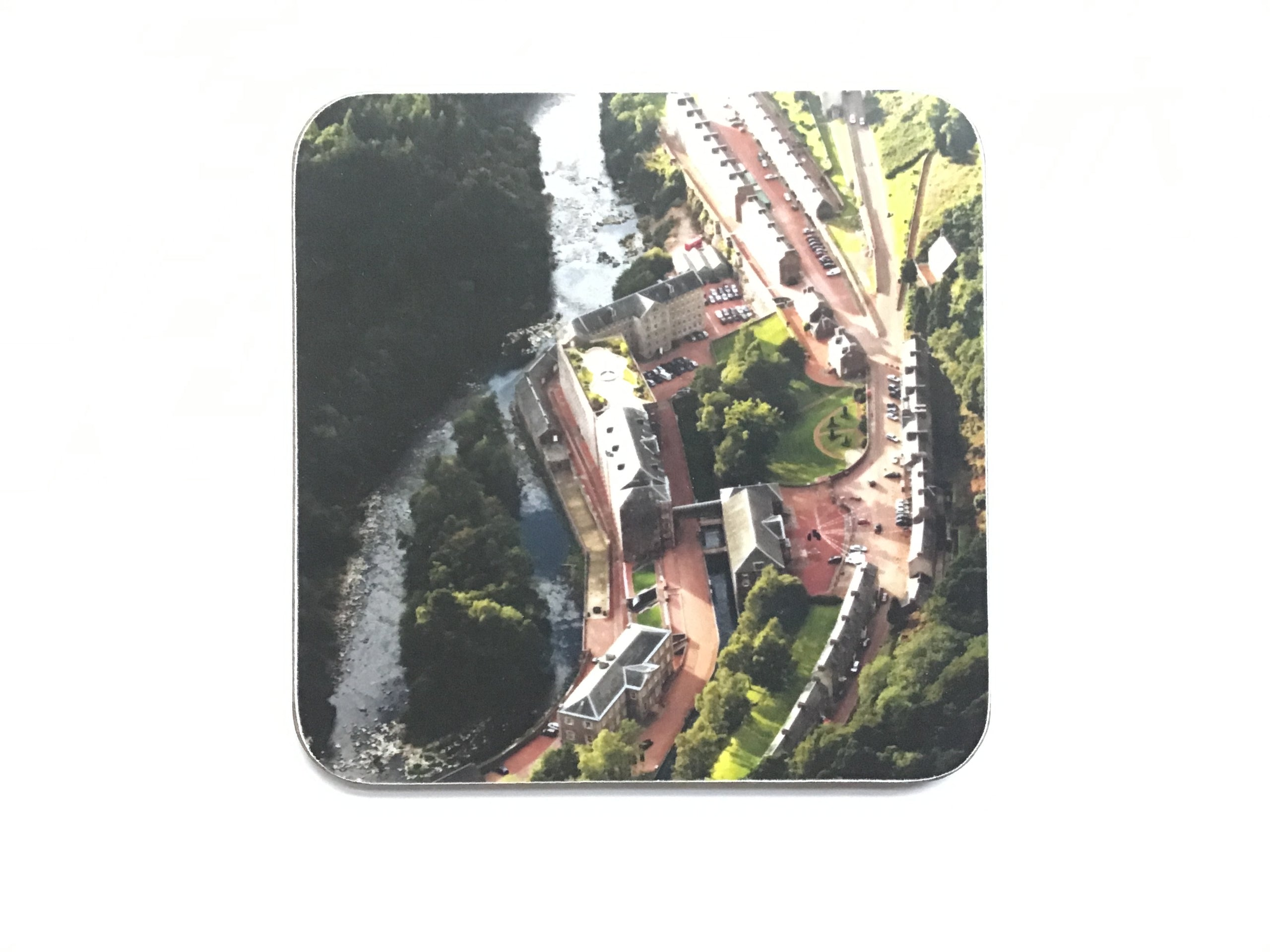 New Lanark Coaster - Aerial View