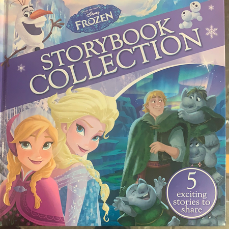 Book - Frozen, Storybook Collection - New Lanark Spinning Company