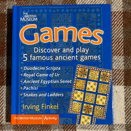 Book - Games, The British Museum - New Lanark Spinning Company