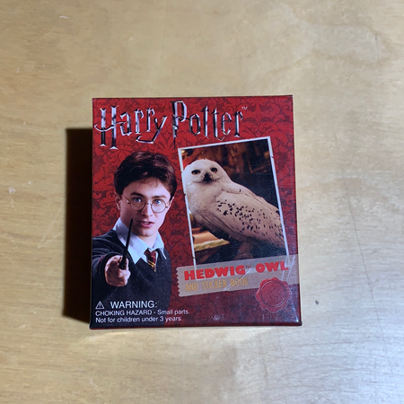 Harry Potter Owl and Sticker Book - New Lanark Spinning Company