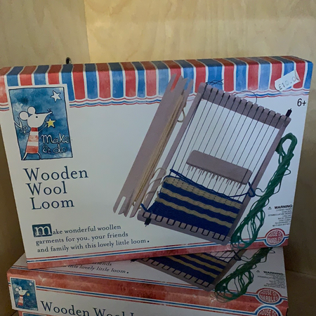 Wooden Wool Loom - New Lanark Spinning Company