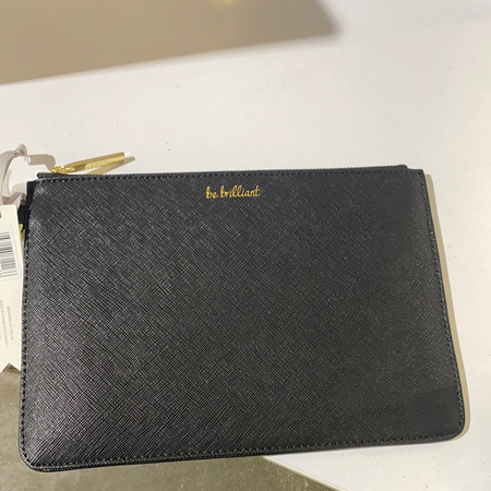 Katie Loxton - 'Be Brilliant' Clutch Black - New Lanark Spinning Company