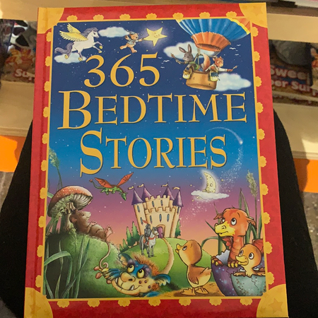 Book - 365 Bedtime Stories - New Lanark Spinning Company