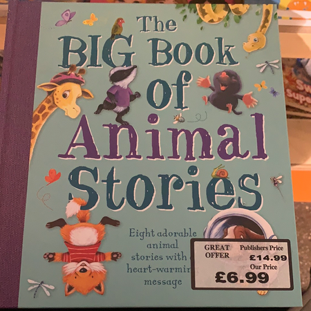Book - The Big Book of Animal Stories - New Lanark Spinning Company