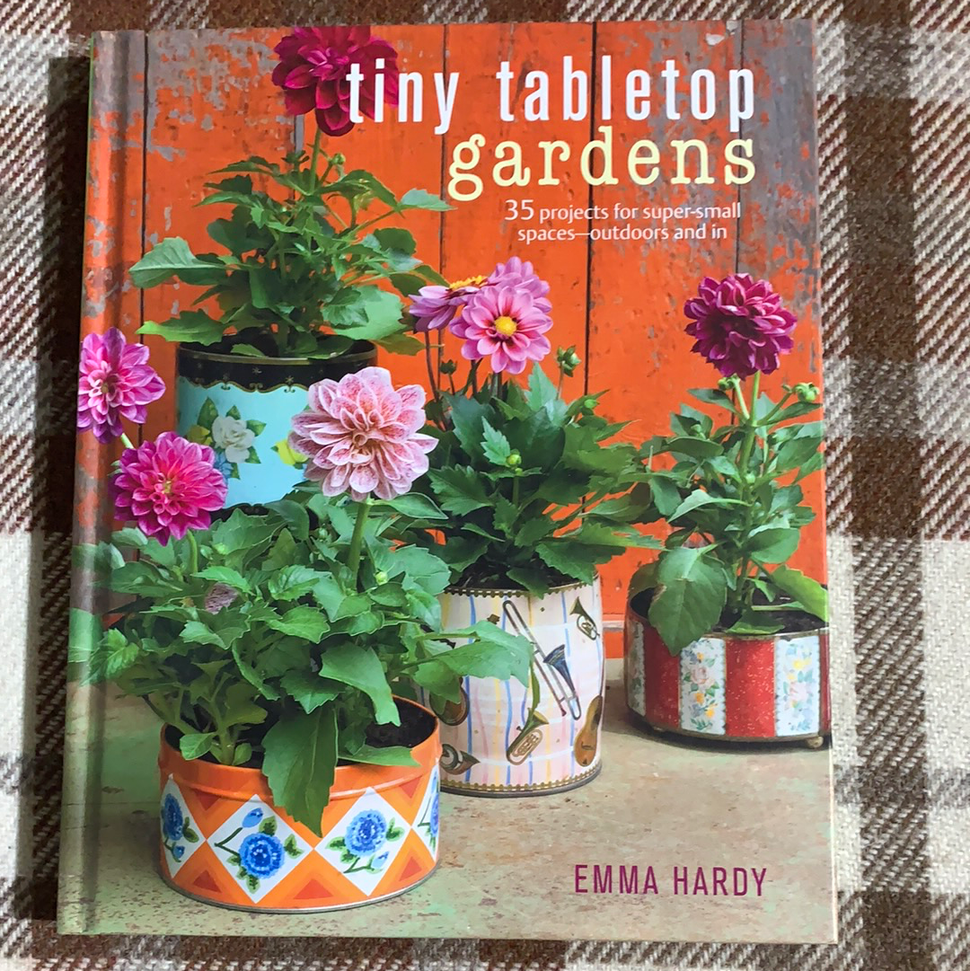 Book - Tiny Tabletop Gardens