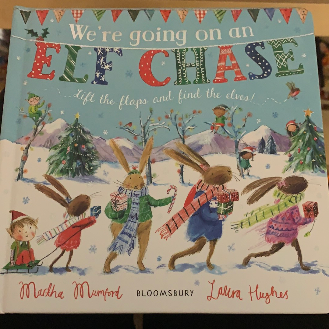 Book - We're Going On An Elf Chase
