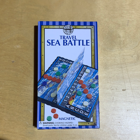 Travel Sea Battle Game - New Lanark Spinning Company