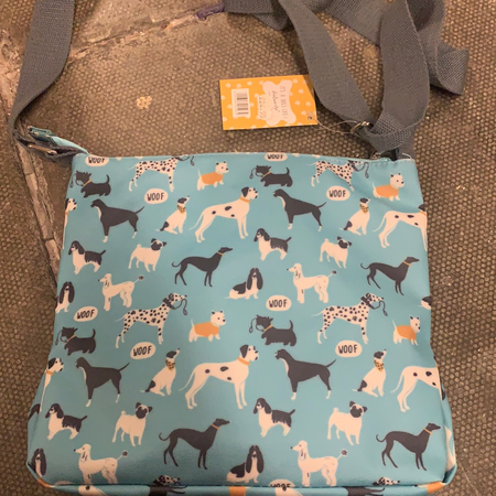 Bag - It's a Dogs Life Crossbody Bag - New Lanark Spinning Company