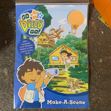 Book - Go Diego Go make a scene - New Lanark Spinning Company