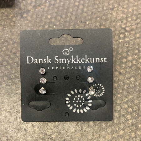Dansk - Pack of 3 Earrings - New Lanark Spinning Company