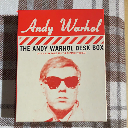 Andy Warhol Desk Box - New Lanark Spinning Company