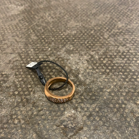 Sno of Sweden Rose Gold Ring - New Lanark Spinning Company