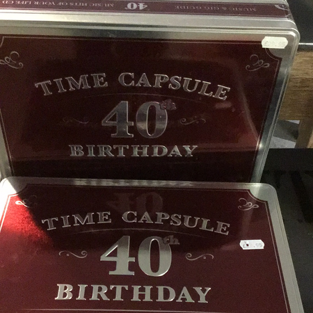Time capsule 40th birthday - New Lanark Spinning Company