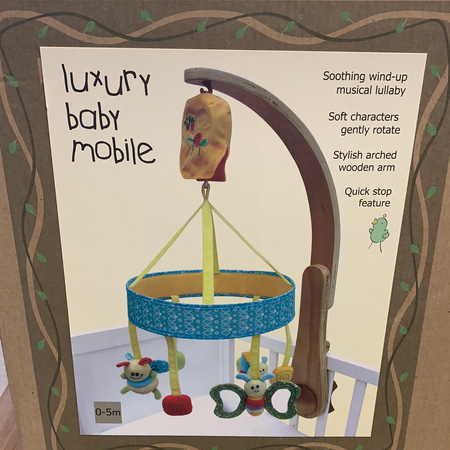 Luxury Baby Mobile - New Lanark Spinning Company