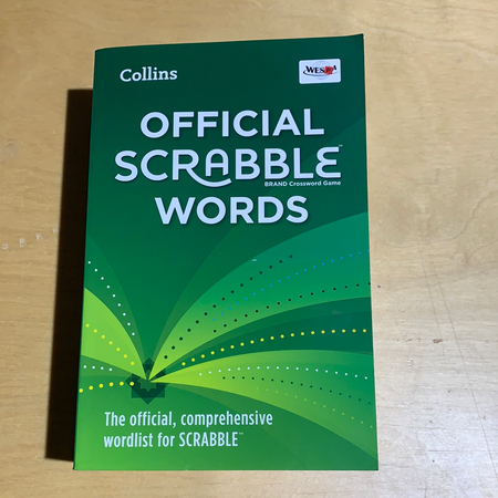 Book - Official Scrabble Words